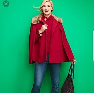 New Talbots red cape